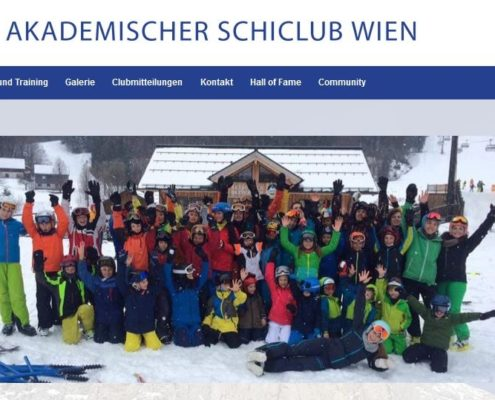 Website Relaunch des ASCWien